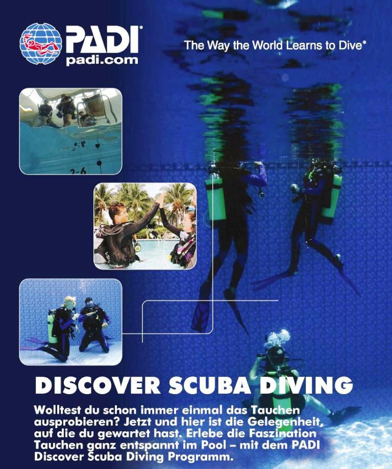 Discover Scuba Diving Event